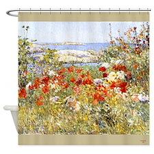 Celia Thaxters Garden Shower Curtain