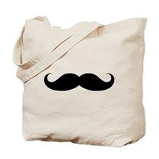 Hipster Moustache Tote Bag