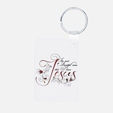 Beautiful name of Jesus Keychains