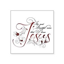 Beautiful name of Jesus Sticker
