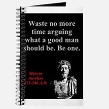 Waste No More Time - Marcus Aurelius Journal
