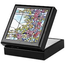Tiffany Floral Skylight Keepsake Box