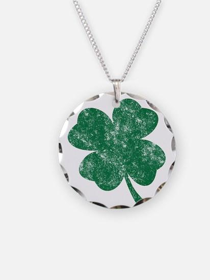 St Patrick's Shamrock Necklace