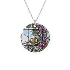 Tiffany Floral Skylight Necklace