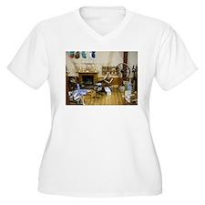 Yarn Doll House Room Plus Size T-Shirt