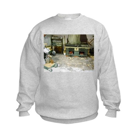 Woodworking Doll House Room Sweatshirt