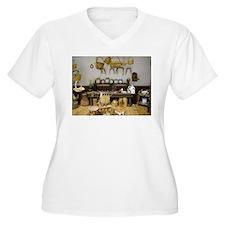 Basket Weaving Room Plus Size T-Shirt