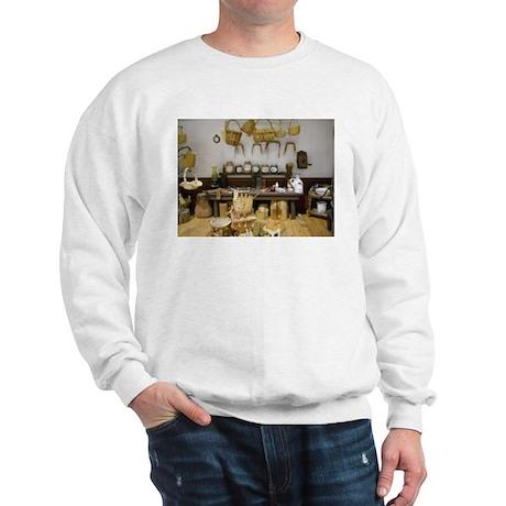 Basket Weaving Room Sweatshirt