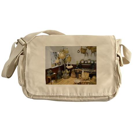 Basket Buying Doll House Room Messenger Bag