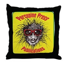 Porcupine Press Publications Throw Pillow
