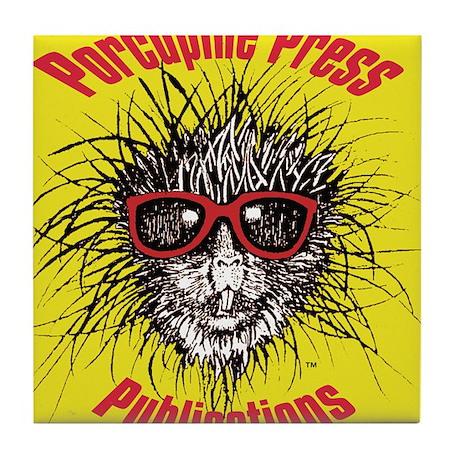 Porcupine Press Publications Tile Coaster