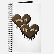 Chocolate Sweethearts Journal