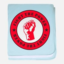 Fight The Power baby blanket