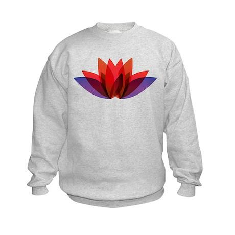 Flower Design Sweatshirt