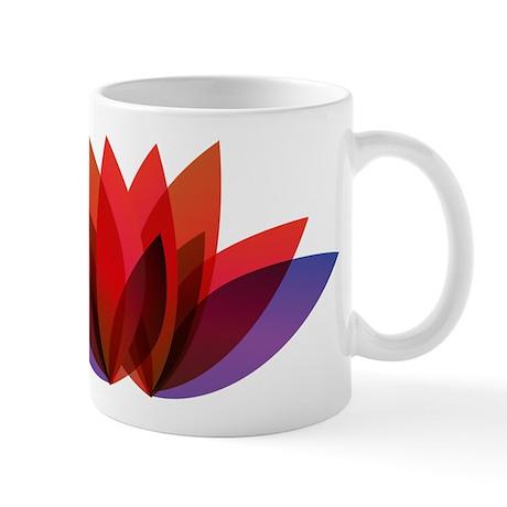 Flower Design Mug