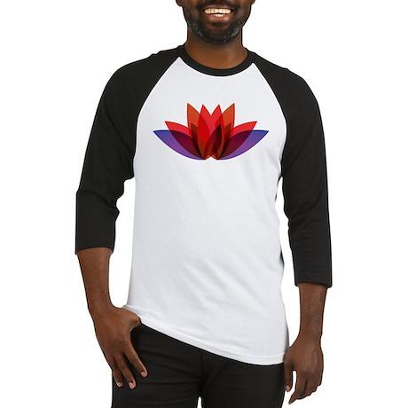 Flower Design Baseball Jersey
