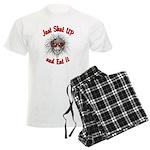 Shut UP and Eat It Men's Light Pajamas