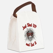 Shut UP and Eat It Canvas Lunch Bag