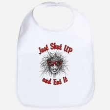 Shut UP and Eat It Bib