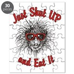 Shut UP and Eat It Puzzle