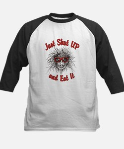 Shut UP and Eat It Kids Baseball Jersey