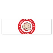Fight The Power Bumper Bumper Sticker