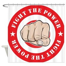 Fight The Power Shower Curtain