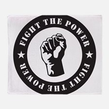 Protest Throw Blanket