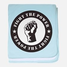 Protest baby blanket