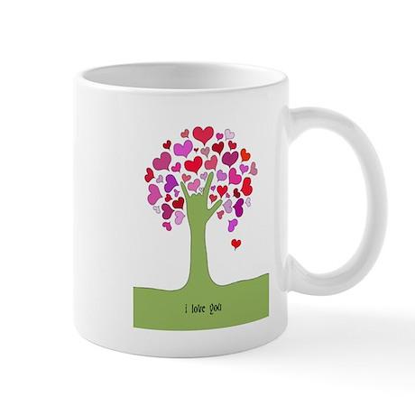 I Love You Tree Mug