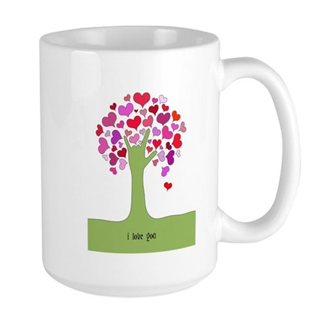I Love You Tree Mug