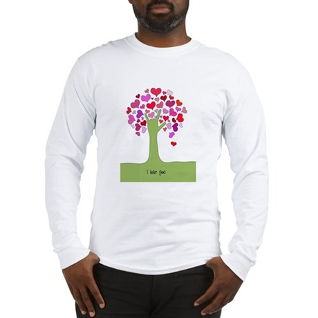 I Love You Tree Long Sleeve T-Shirt
