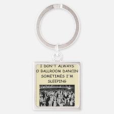 ballroom dancing Square Keychain