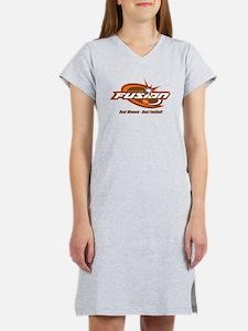 Cute Real football Women's Nightshirt