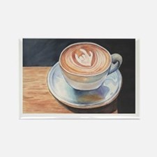 I Love You Coffee #2 Rectangle Magnet