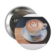 """I Love You Coffee #2 2.25"""" Button"""