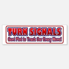 Turn Signals Equiped Use Bumper Bumper Bumper Sticker