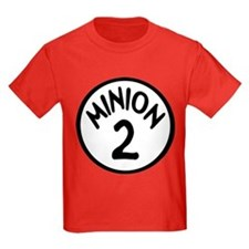 Minion 2 Two Children T-Shirt
