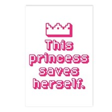 This Princess Saves Herself Postcards (Package of