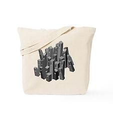 3d Design Tote Bag