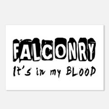 Falconry Designs Postcards (Package of 8)
