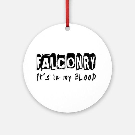 Falconry Designs Ornament (Round)