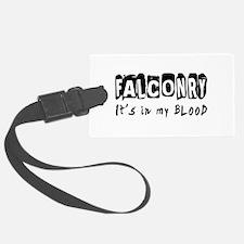 Falconry Designs Luggage Tag