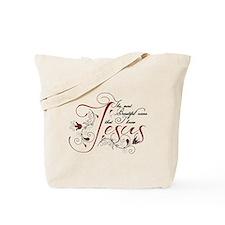 Beautiful name of Jesus Tote Bag
