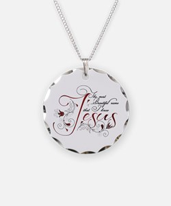 Beautiful name of Jesus Necklace