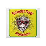 Porcupine Press Logo Throw Blanket