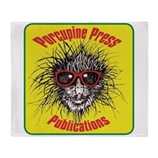 Porcupine Press Logo Throw Blanket
