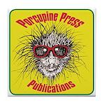 Porcupine Press Logo Tile Coaster