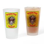 Porcupine Press Logo Drinking Glass
