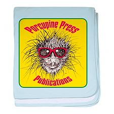 Porcupine Press Logo baby blanket